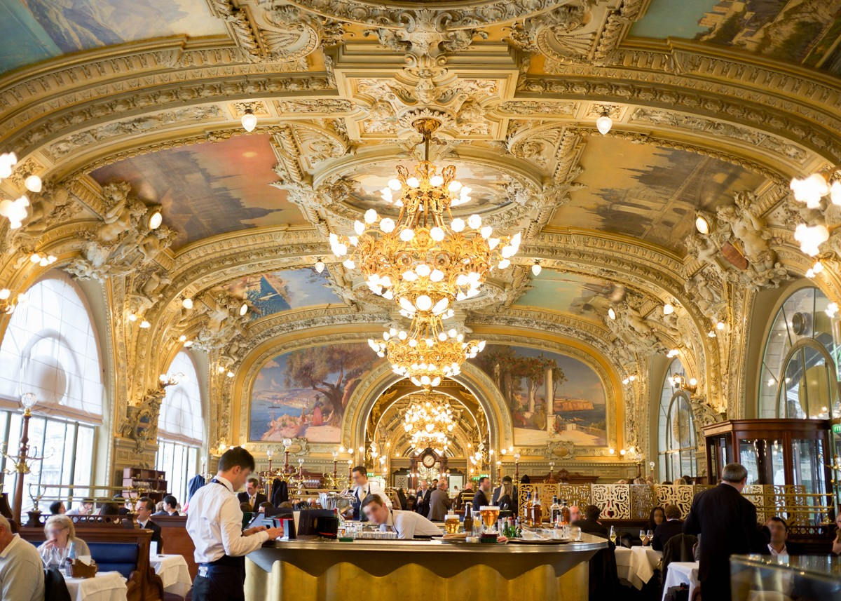 Souvent Le Train Bleu - the Palace Restaurant of La Belle Époque | O'Bon  KY01