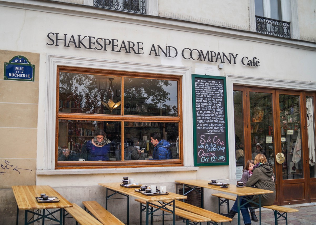 Shakespeare Company Cafe Paris