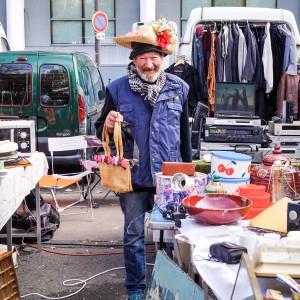 蒙特勒伊市場 Marché aux puces de la Porte de Montreuil