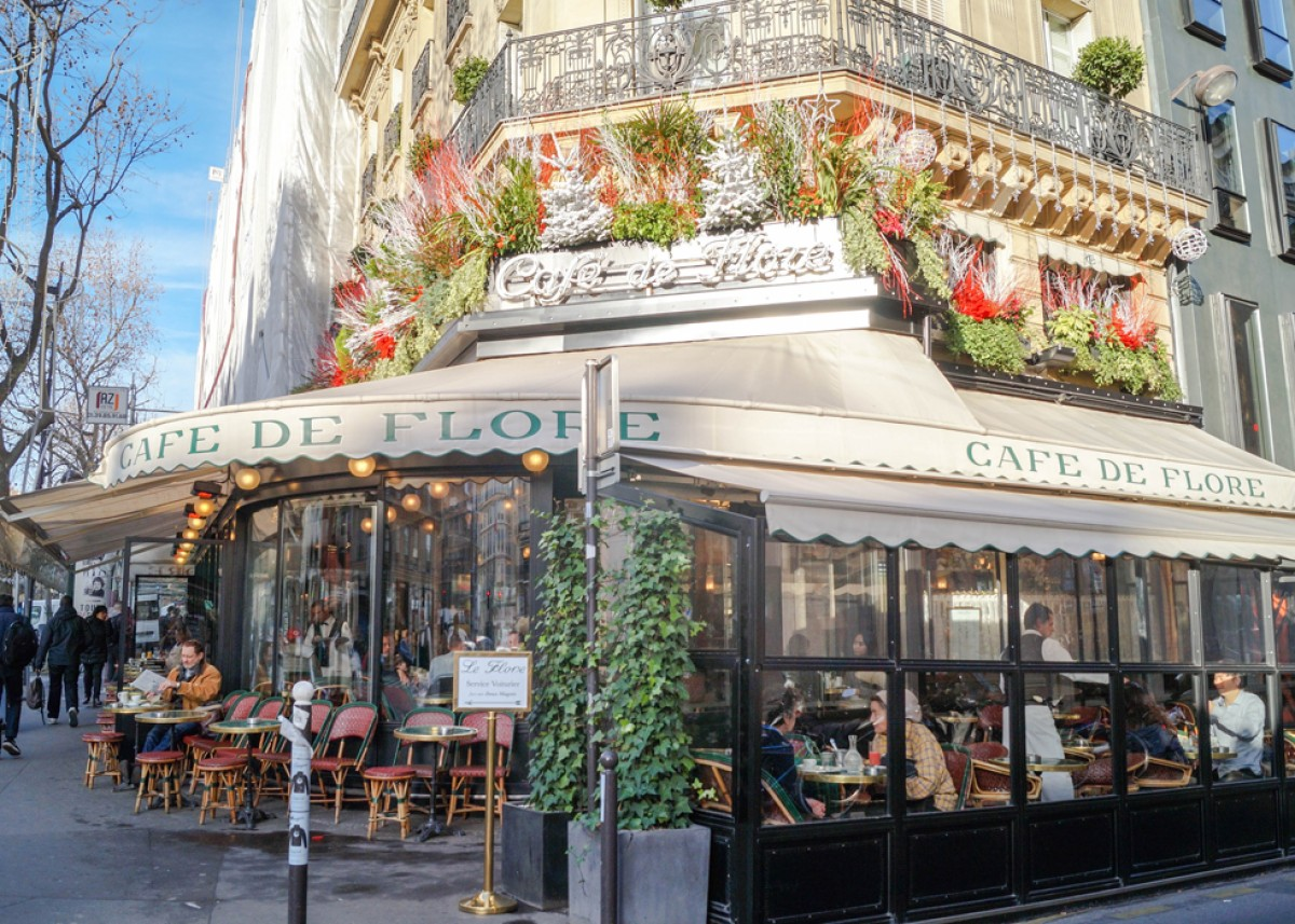 Caf Ef Bf Bd Flore Paris
