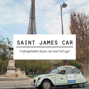 SAINT JAMES CAR - Exclusive Tour in Classic French Car