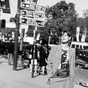 CHANEL 2017 S/S STREET FASHION, PARIS FASHIONWEEK