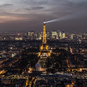 Đài quan sát từ tháp Montparnasse