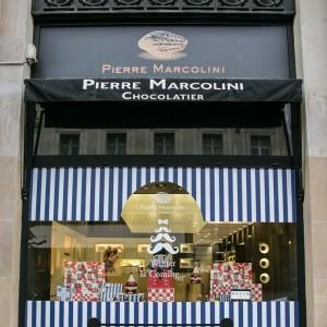 來自比利時的奢華巧克力、馬卡龍專賣店 - Pierre Marcolini