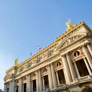L'opéra Garnier 巴黎加尼葉歌劇院