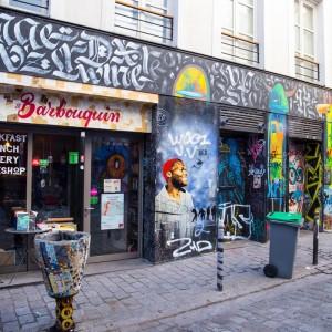 充滿活力的塗鴉盛宴,Belleville 街頭藝術