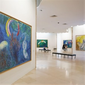 Nice - Museum Marc Chagall