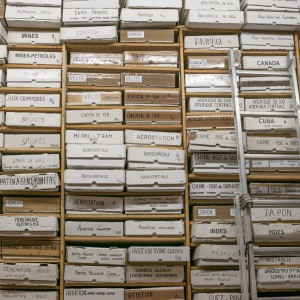銘刻時間的檔案館:La Galcante書店