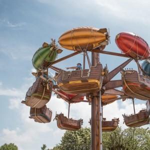 สวนสนุก JARDIN D'ACCLIMATATION ในกรุงปารีส