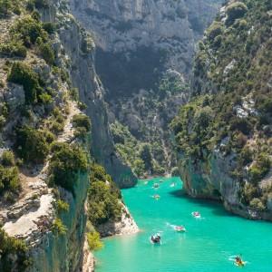 圣十字湖 LAC DE SAINTE CROIX - 凡尔登大峽谷 Gorges du Verdon