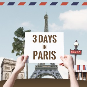 Guidebook Obonparis - 3 days in Paris