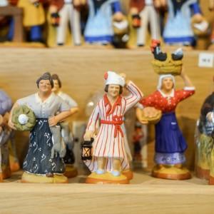 普羅旺斯的聖誕傳統:人型瓷偶