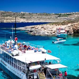 Blue Lagoon 马耳他的蓝宝石海