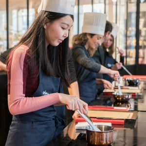 FRENCH CUISINE WORKSHOP IN GALERIES LAFAYETTE