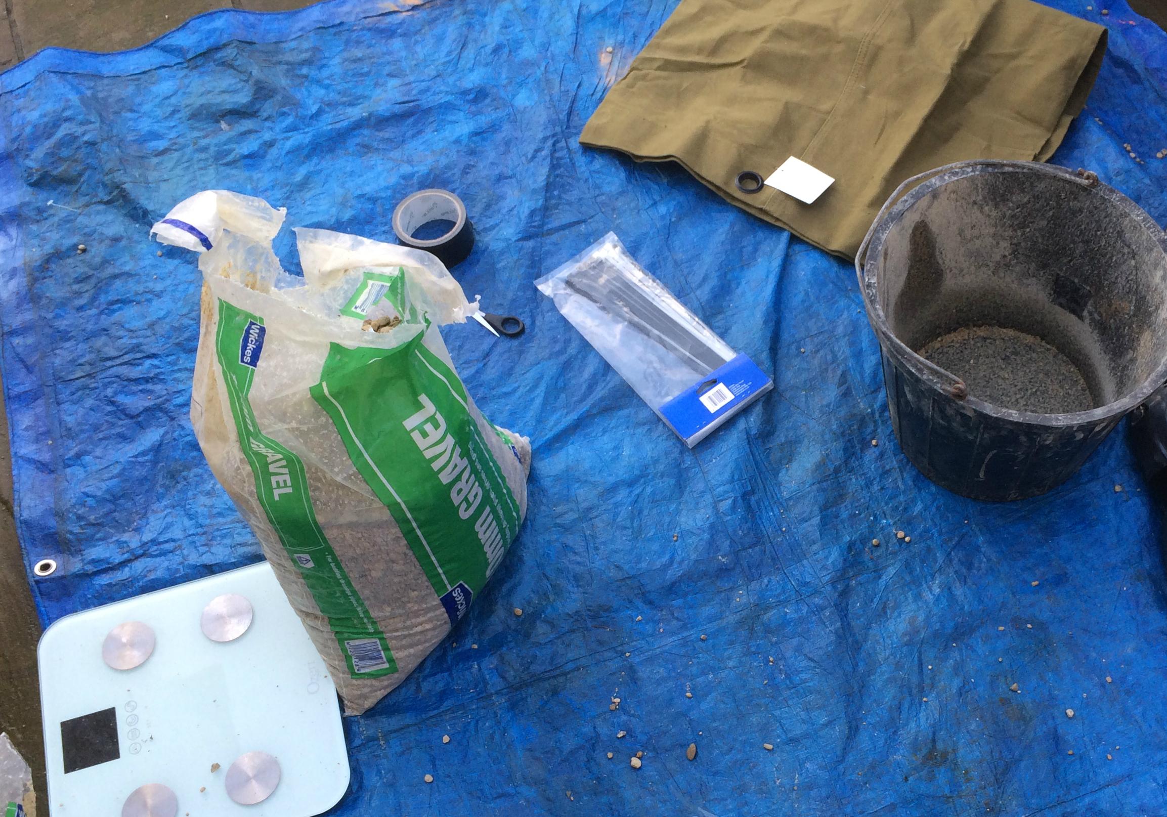 DIY Sandbag Materials