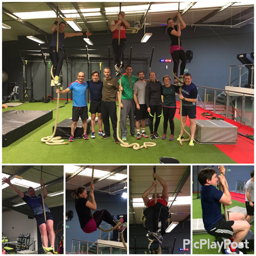 OCR Masters Rope Climb Pictures