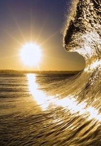 sunlight-ocean-waves-photography