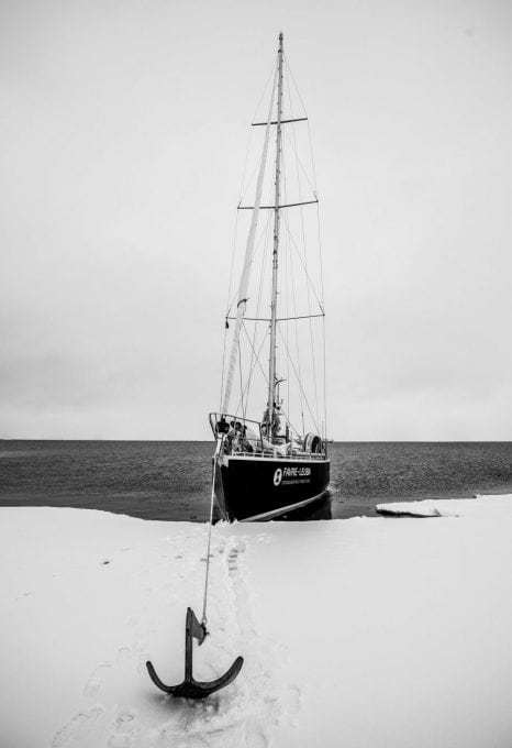 Arctic Mission, Arctic, yacht, sailboat