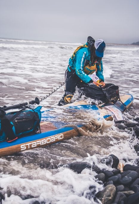 Paddleboard Wales, circumnavigation of Wales by paddleboard, Sian Sykes, SUP against plastic, SUP