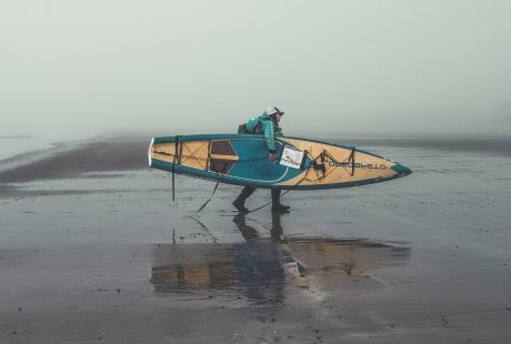 Sian Sykes, paddle boarding around Wales, SUP, Wales, circumnavigation of Wales
