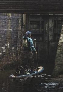 Sian Sykes, paddle board, plastic, Wales, Circumnavigation