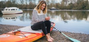 Lizzie carr plastic patrol paddleboarding crew clothing