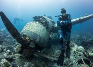 Palau-James-Glancy-Plane-Wreck