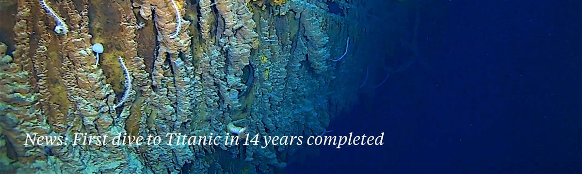 titanic dive eyos expeditions project aware