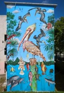 tre packard pangea seed sea walls ocean activism conservation artivism heron public art