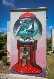 tre packard pangea seed sea walls ocean activism conservation artivism cancun public art