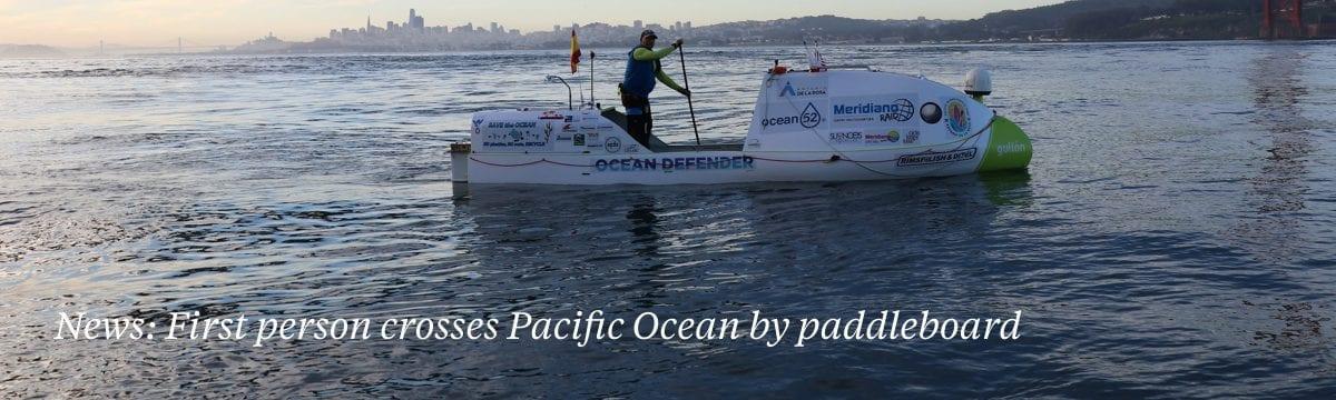 pacific ocean crossing