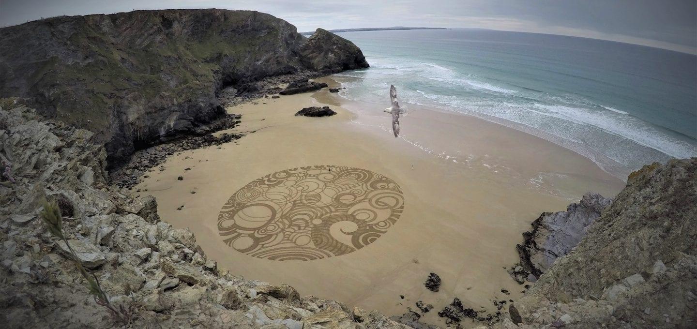 ocean film festival tony plant bedruthan sand artist cornwall