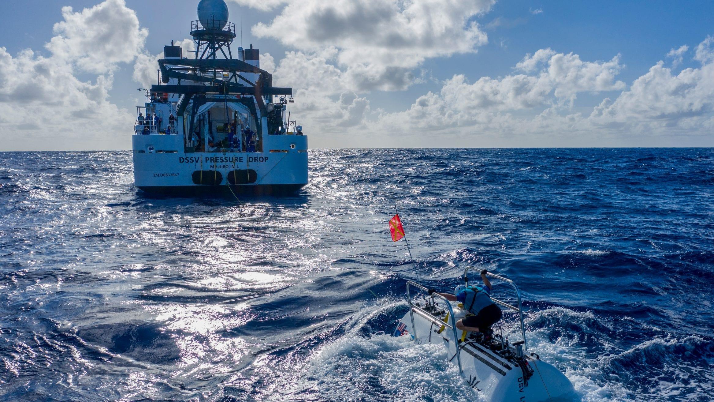 Five Deeps EYOS Expeditions Pressure Drop Molloy Arctic Trench Exploration Victor Vescovo