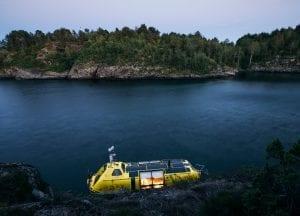 Arctic Lifeboat Norway adventure STØDIG Sandvika Rock Mooring Norwegian fjords
