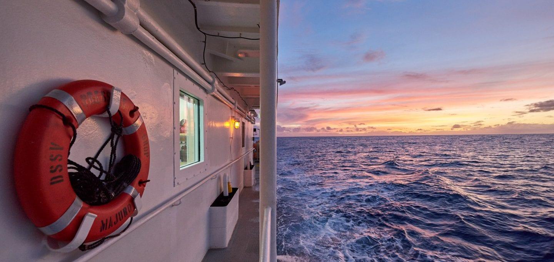 Five Deeps Victor Vescovo EYOS Expeditions Pressure Drop research vessel