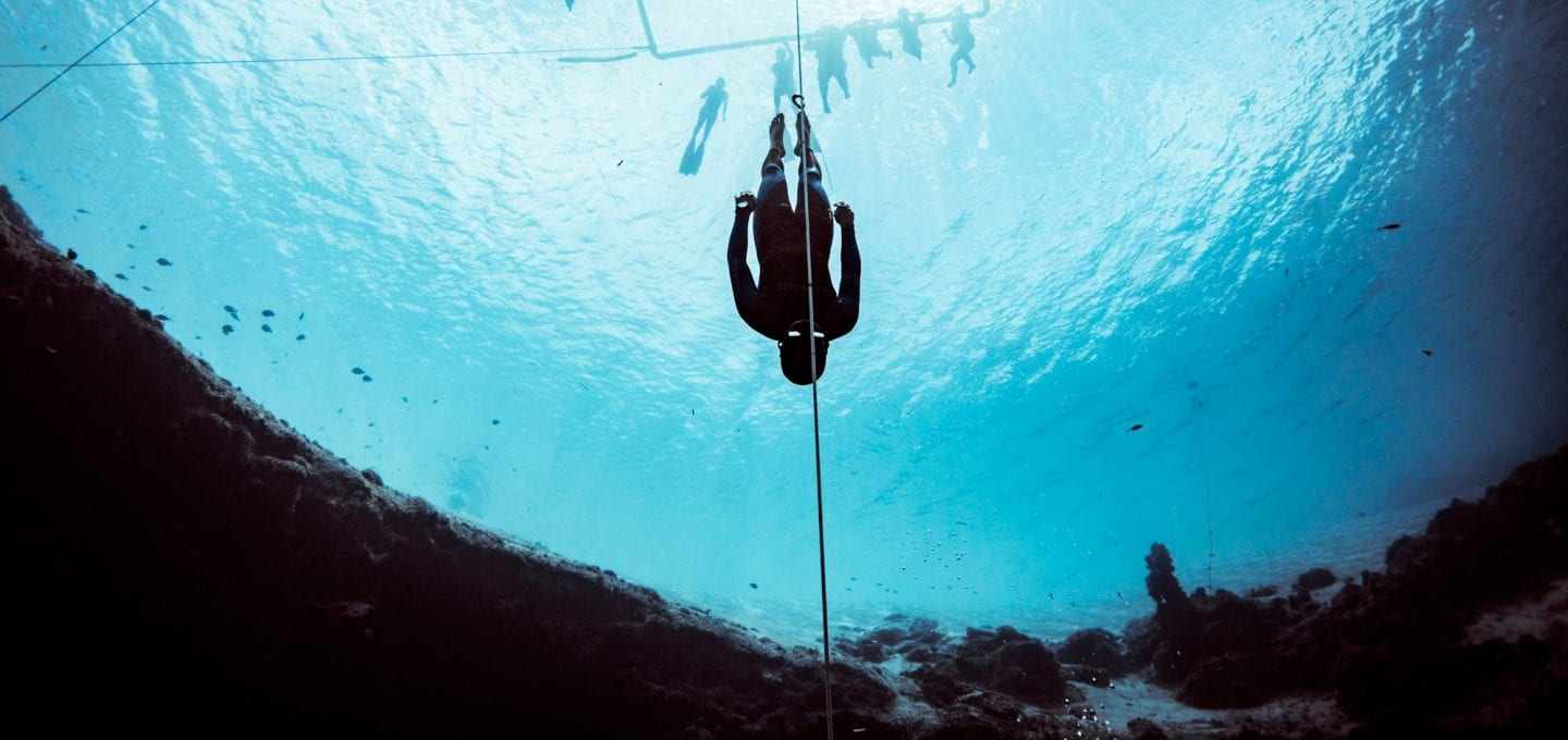 Alex Davis Freediving Barbados
