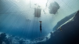 Freediving Barbados Alex Davis freediver Daan Verhoeven