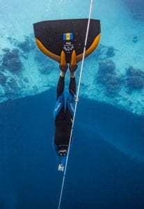 Freediving Barbados Alex Davis freediver Alex St Jean