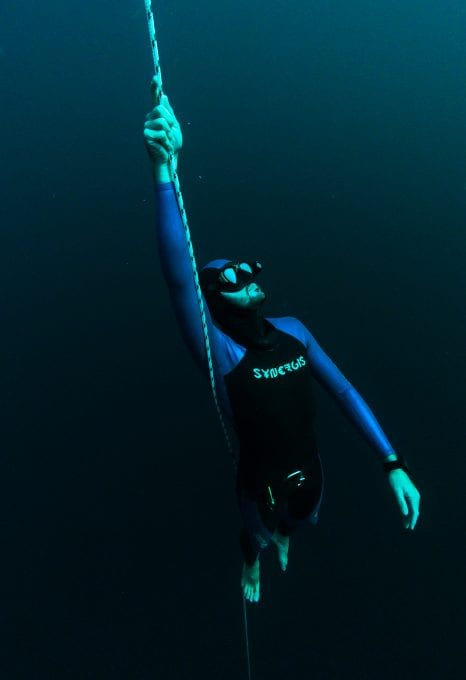 Freediving Barbados Alex Davis freediver John Alexander