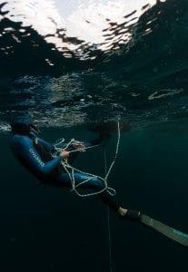 Freediving Barbados Alex Davis freediver John Alexander