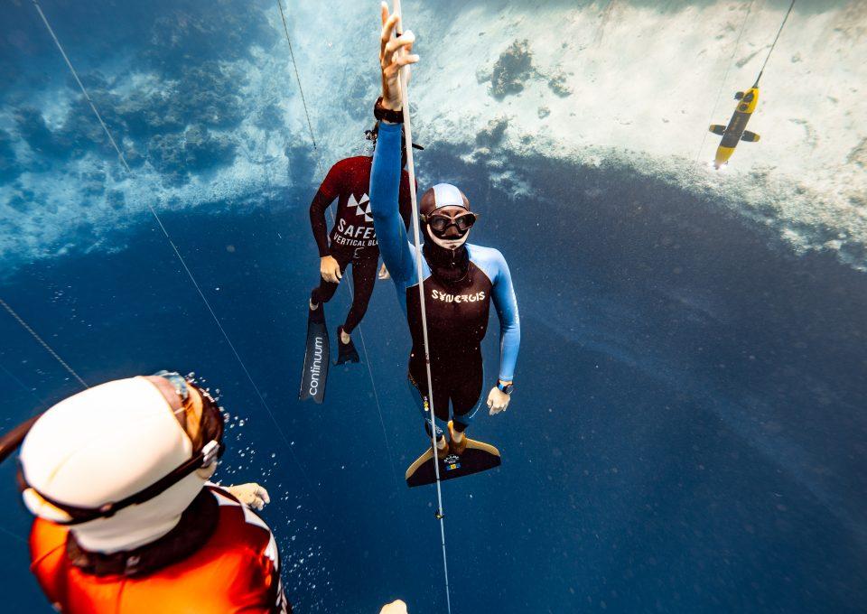 Freediving Barbados Alex Davis freediver Daan Voerhoeven