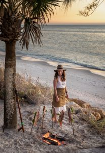 captain sophie hollingsworth adventure cooking sailing beach chef