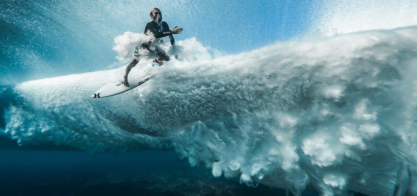 Ben Thouard ocean photography wave photograph Tahiti surfing