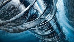 Ben Thouard ocean photography wave photograph Tahiti barrel
