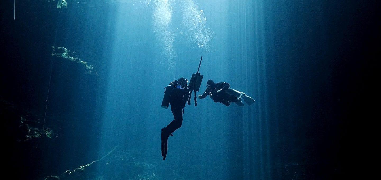 Cenotes Katy Fraser Underwater Artist Filmmaker Philip Gray technical diver