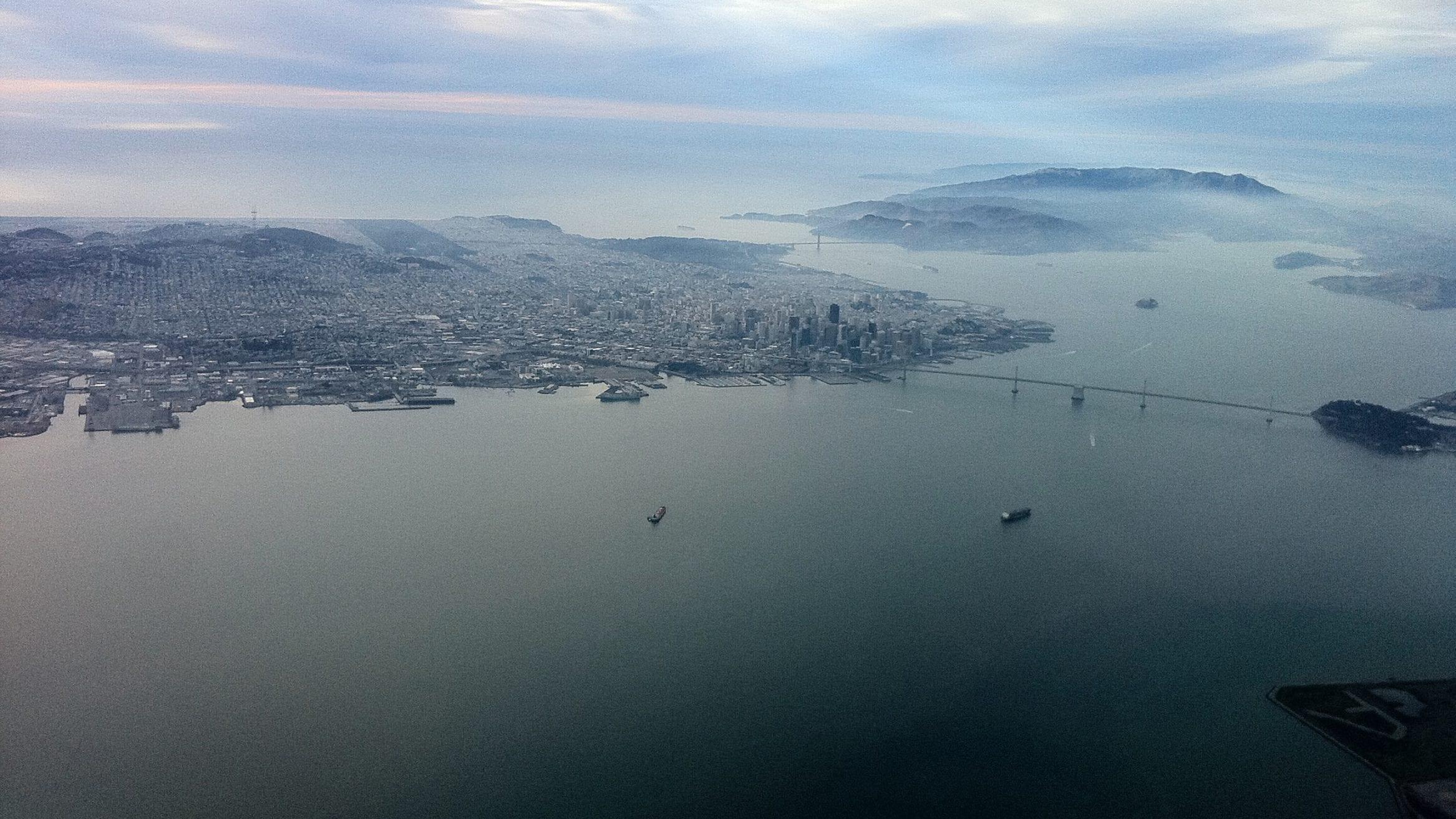 San Francisco Bay microplastic pieces