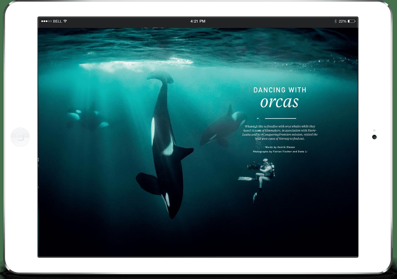Oceanographic magazine, digital subscription, issue nine