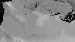 Antarctic Ice shelves Eroding