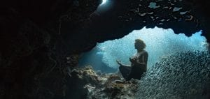 the bahamas andre musgrove underwater photographer cave diving