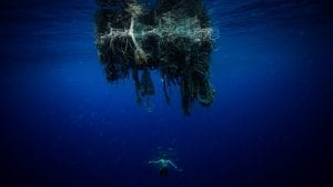 The Vortex Swim Crew marine debris ocean microplastics ghost net